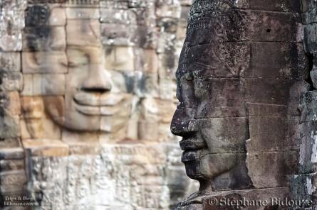Angkor partie I: la porte sud et le Bayon