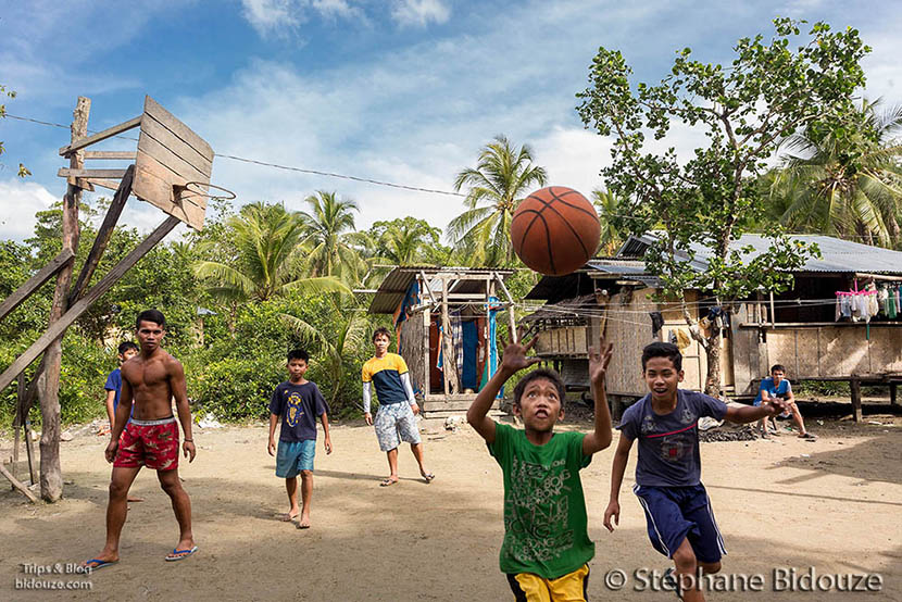 basket-ball-village-philippines-palawan
