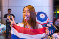 girl-thai-flag-whistle