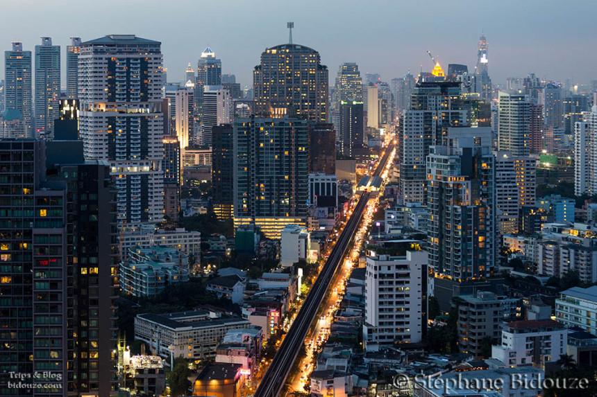Bangkok: L'Octave top bar de l'hotel Marriott
