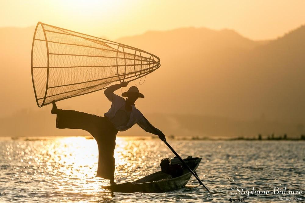 Le lac Inle, dans les montagnes de Shan