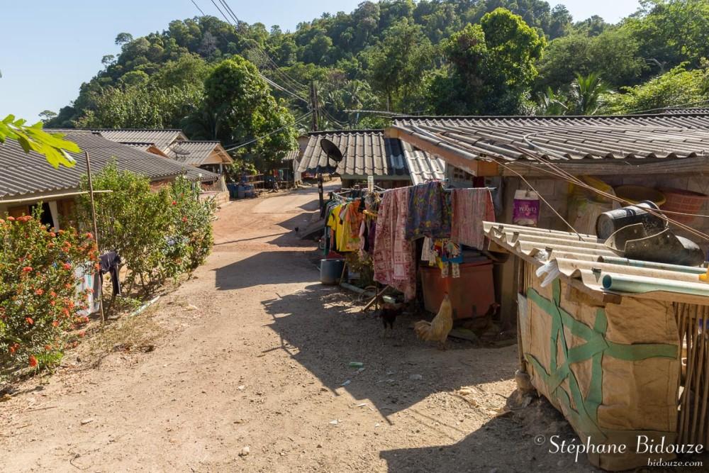 Ban Sangka U moken village